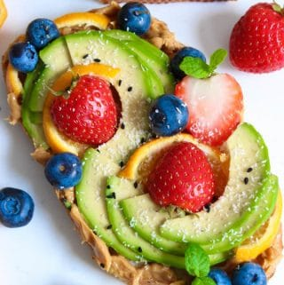 Simple avocado toast recipe ideas