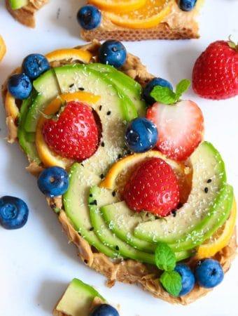 Simple avocado toast recipe ideas