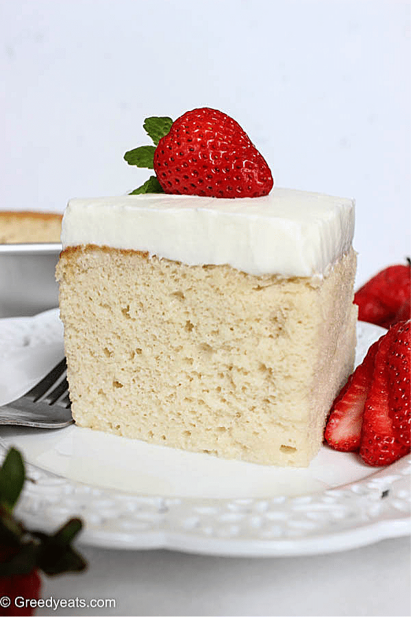 Authentic tres leches cake recipe soaked in rich and creamy milk mixture. It's my most favorite mexican dessert!