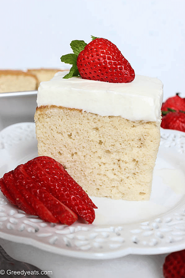 Sweet, creamy, moist and refreshing traditional tres leches cake recipe that you need to bake right now!