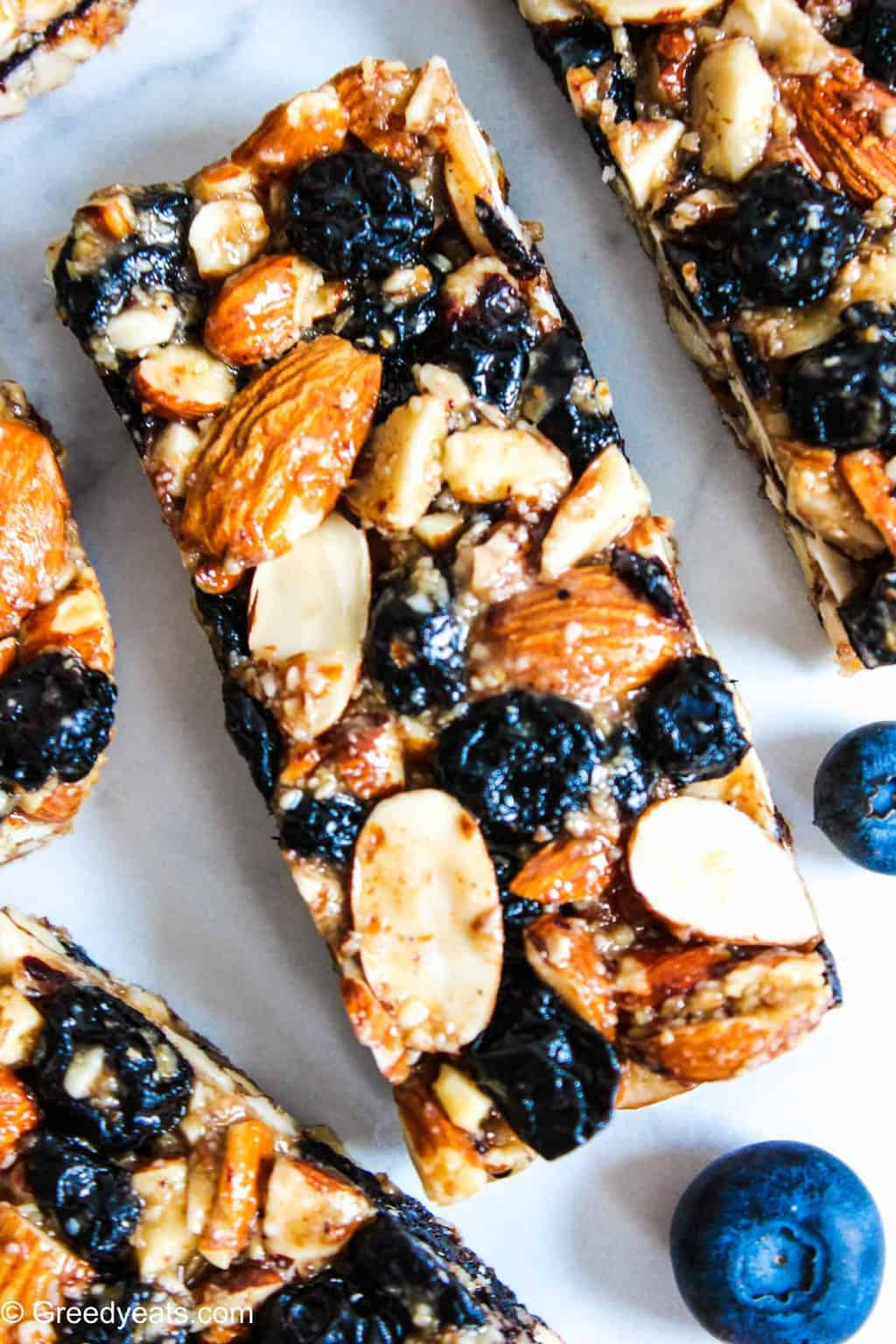Made with 7 simple ingredients my Almond Bars Recipe is a perfect snack time treat.