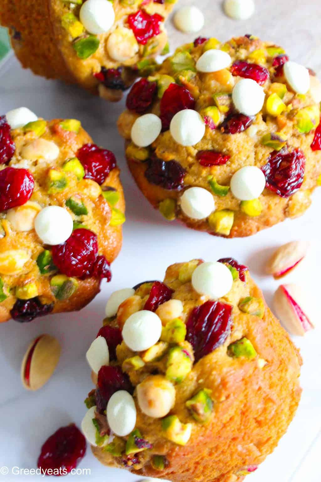 Orange cranberry muffins are the best way to start your day on a chilly fall morning.