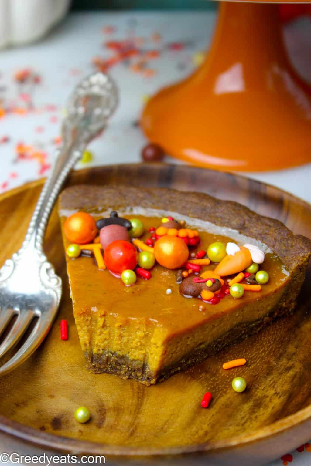 Making Pumpkin Tart recipe just got way easier than it ever was. 7 INGREDIENTS, 25 MINS BAKE TIME and NO SEPARATE CRUST BAKING!