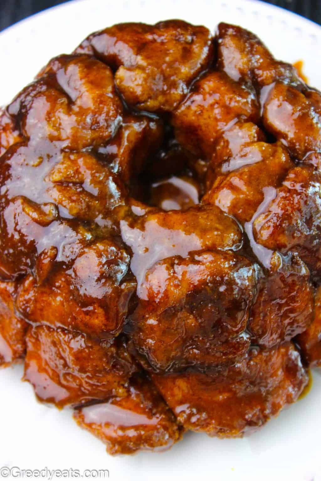 Warm, buttery and filled with cinnamon spice, my overnight monkey bread will be an instant favorite in your kitchen.