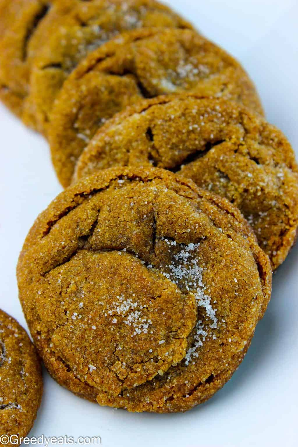 Filled with lots of cozy spices, tender in the center and chewy on the edges, this is the Best Molasses Cookie Recipe ever!