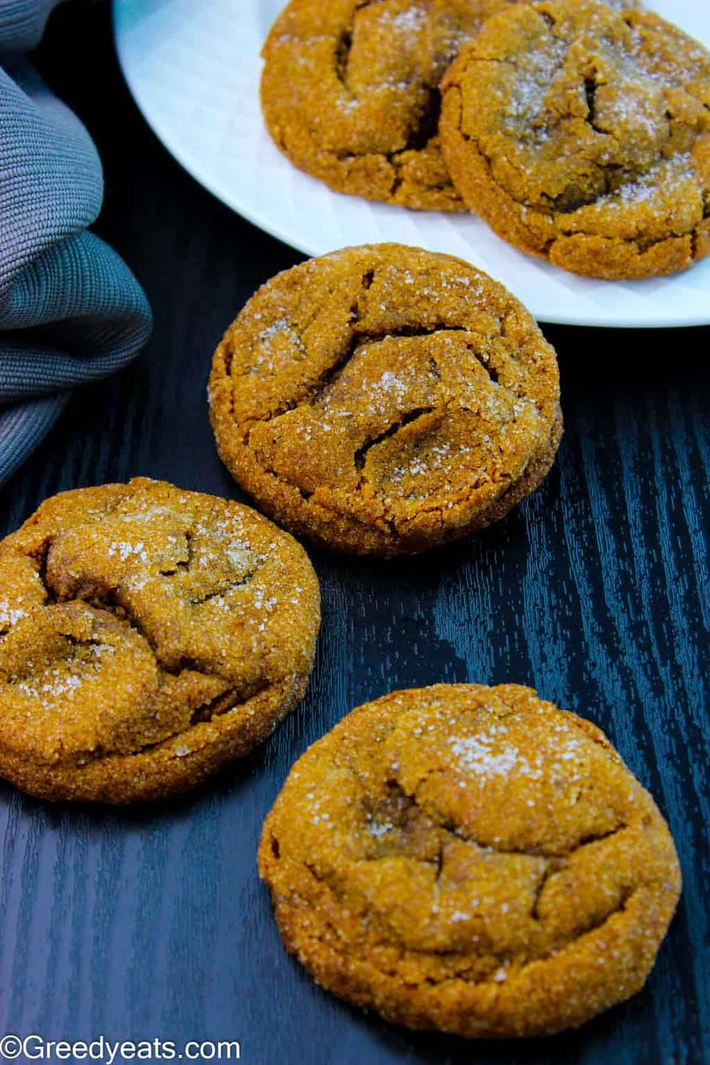 If you love Ginger Molasses Cookies with an amazing spice profile my Soft and Chewy Molasses Cookies are for you!