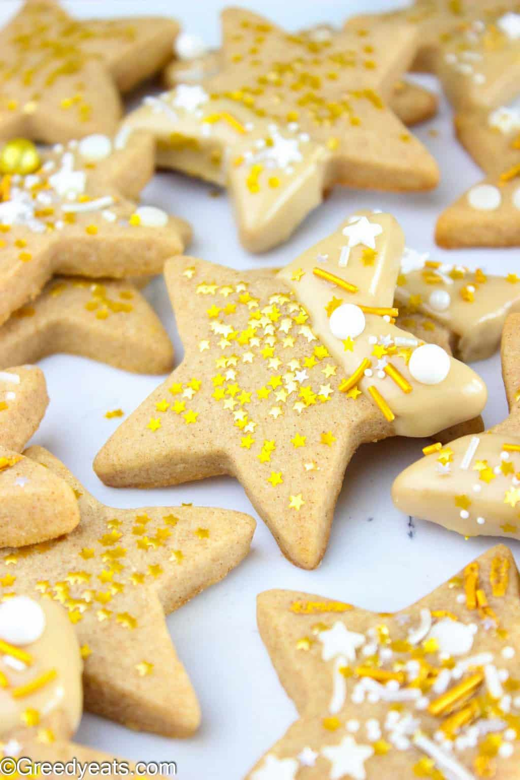 My Star Sugar Cookies are hands down the best Sugar Cookies that you will ever bake!