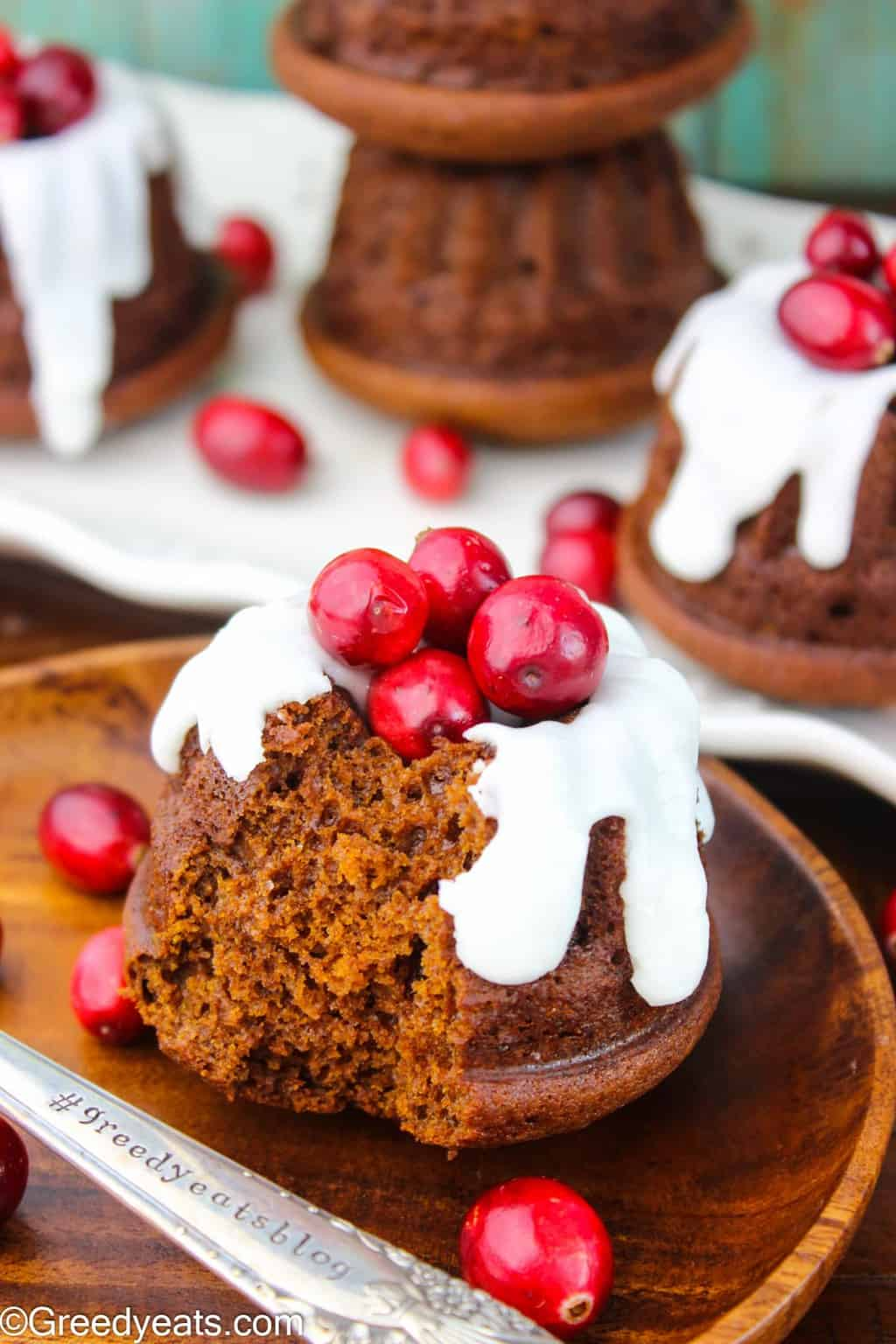 Warm and fluffy, moist and perfectly spiced, this Gingerbread bundt cake recipe will be your favorite Holiday Dessert!