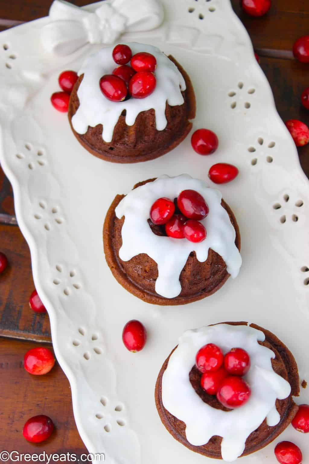 Warm and cozy Gingerbread Bundt Cake with Lemon Glaze is a must bake this Holiday Season.