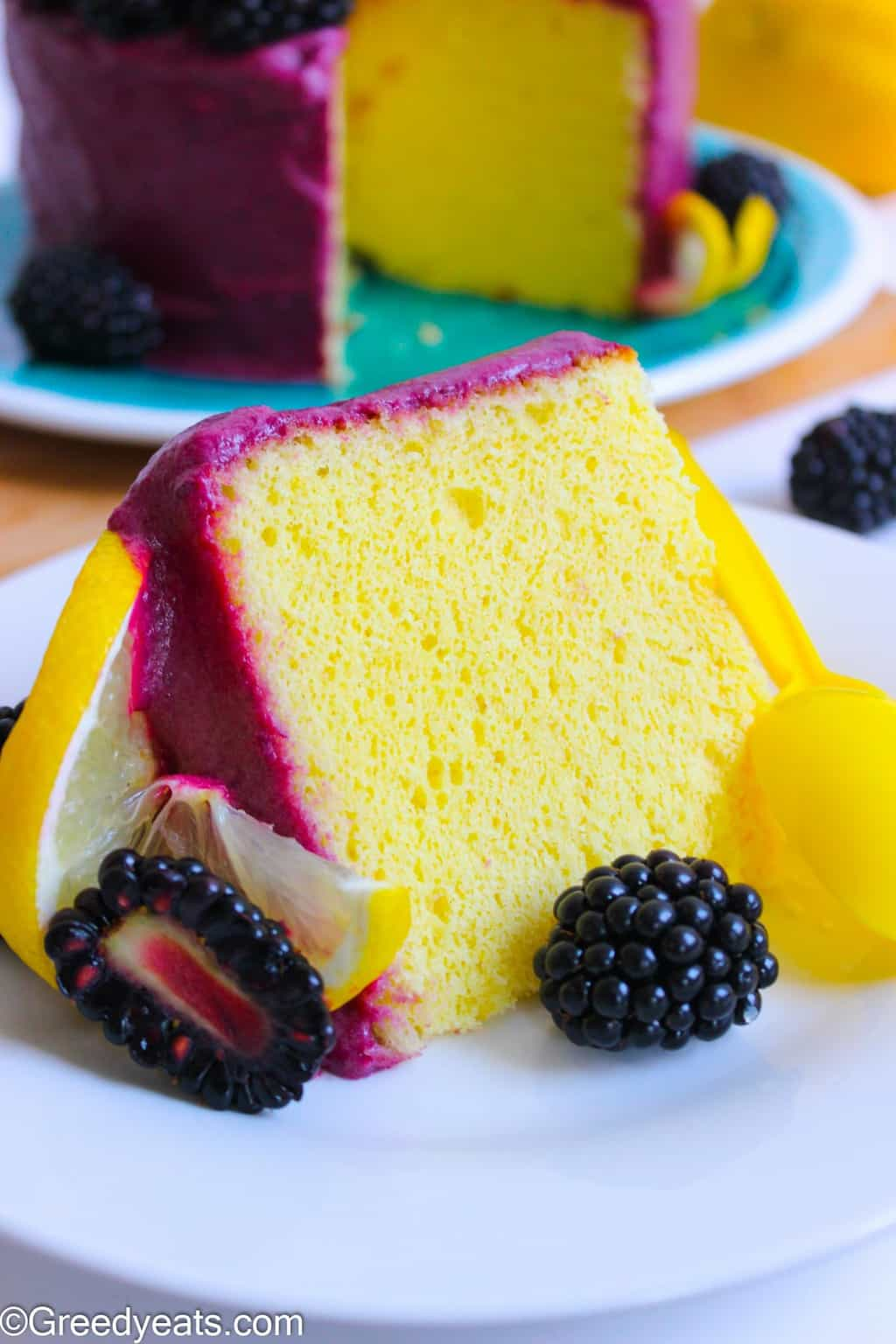 This Lemon Chiffon Cake recipe will transport you directly into the lemon fields. It bakes so moist, lemony and refreshing!
