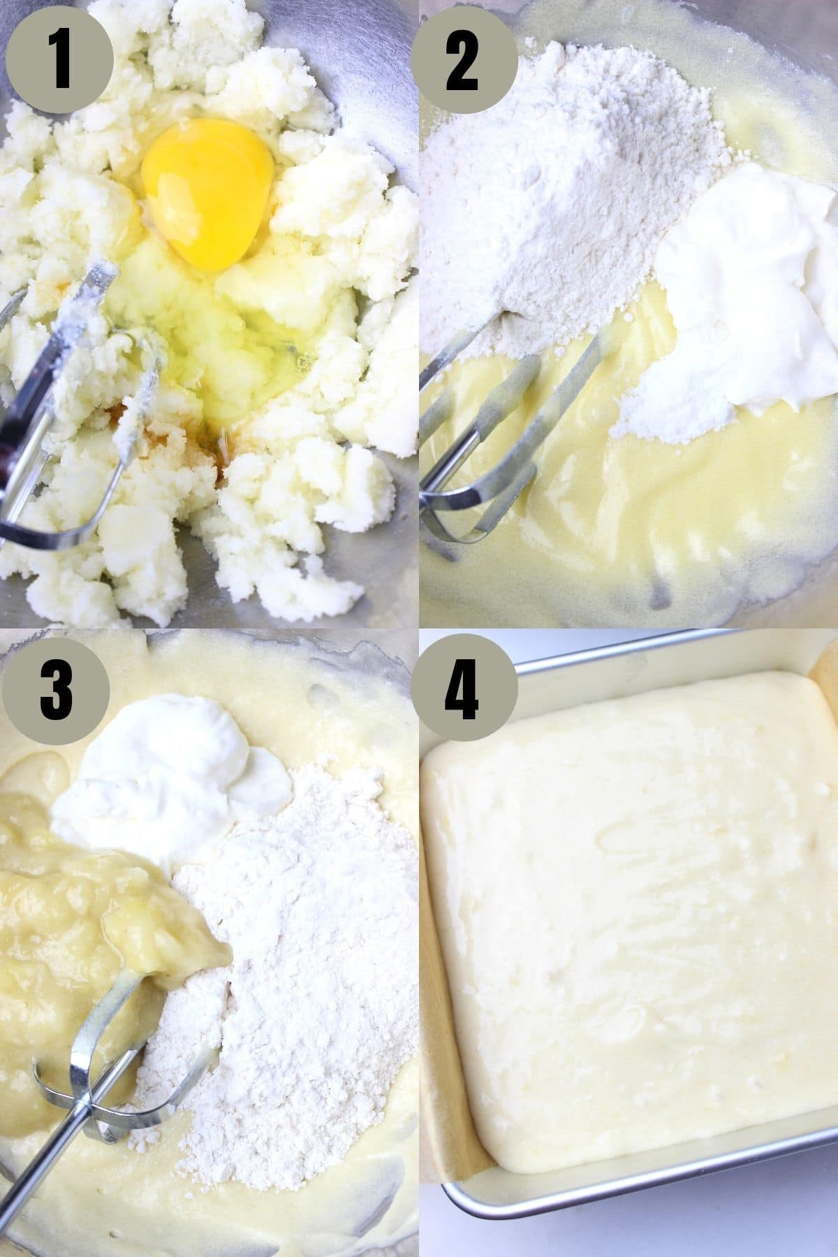 Process to make the softest and the fluffiest banana cake ever.